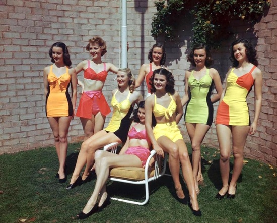 Fashion Swim Suits 1947